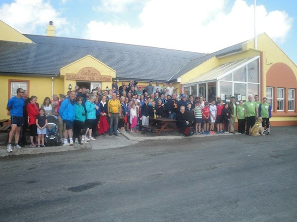 The Tory Island walkers who helped raise vital fund for the irish Guide Dogs for the Blind!