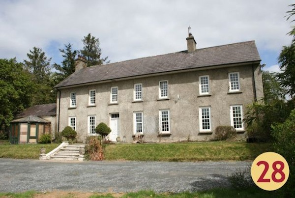 Stunning Fahan House on the shores of Lough Swilly.