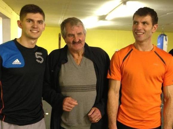 Brendan Ryan with son Danny & grandson Keane