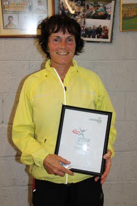 Jackie Harvey - Women's 50-plus winner