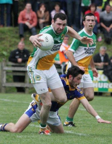 Ciaran Bonner will be a pivotal player for Glenswilly this weekend as they host St Michaels knowing nothing other than a victory will do if they're to advance to the last eight of the Donegal SFC.