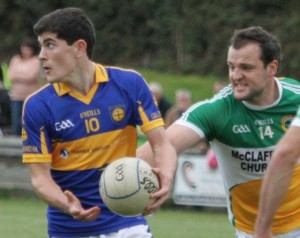 Michael Murphy scored 1-3 to see Glenswilly advance to the last eight of the Donegal SFC