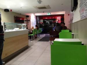 The Abrakebabra restaurant in Letterkenny.