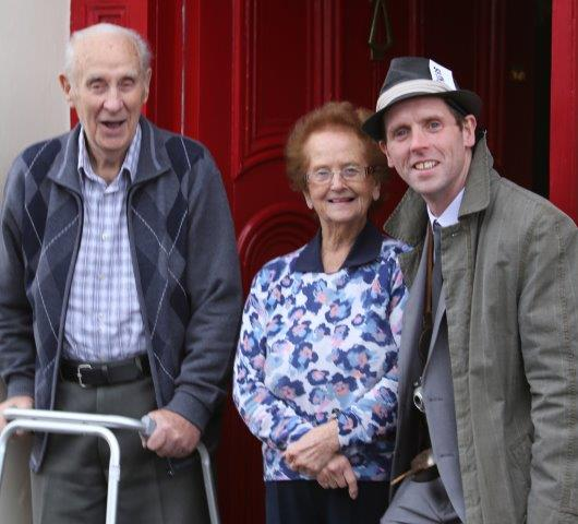 Rosaleen is having a 'Harte to Harte' with these two men in Raphoe.