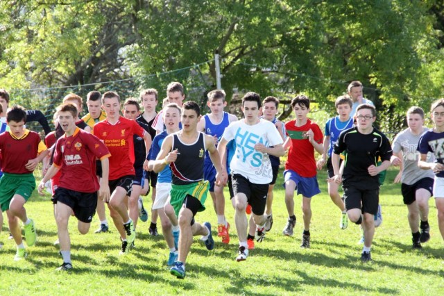 Donegal Secondary Schools Cross Country at Finn Valley 12
