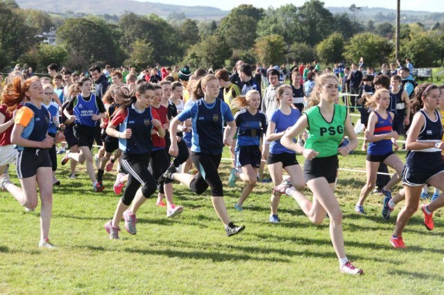 Donegal Secondary Schools Cross Country at Finn Valley 14