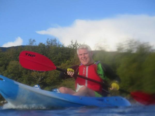 LiamDohertyEnjoying the Kayak section