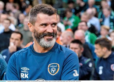 """Roy Keane! """"Did I say that?'"""