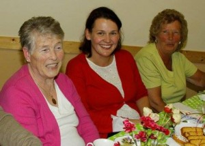 Plenty to smile about for the fundraising tea for the Drumkeen Marching Band.