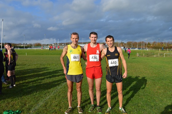 Pauric McKinney, Conor Bradley and Ciaran Doherty.