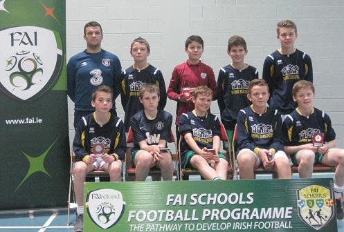 Boys Runner Up - Pobalscoil Ghaoth Dobhair