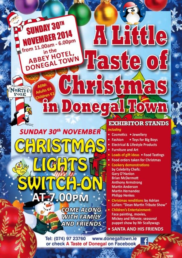 Final Flyer A Little Taste of Christmas 2014