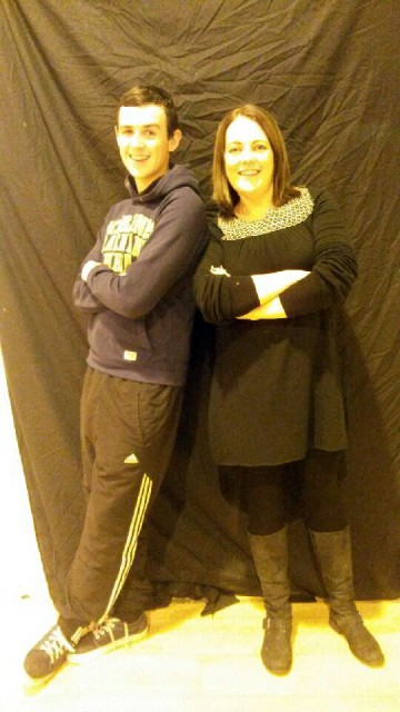 Jason Cole and Tara Friel looking forward to the Deele College Strictly Come Dancing on December 6th in the Mount Errigal Hotel.