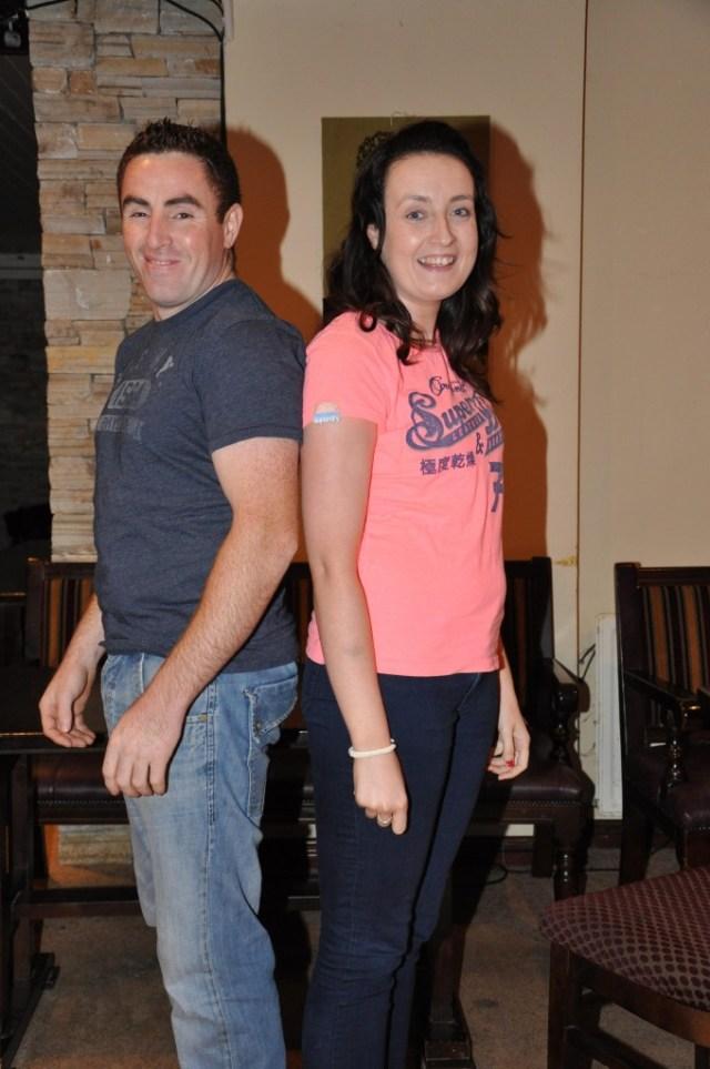 Liam Mc Mullan & Suzanne Mulhern.