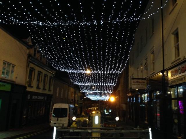 Quay Street Christmas Lights