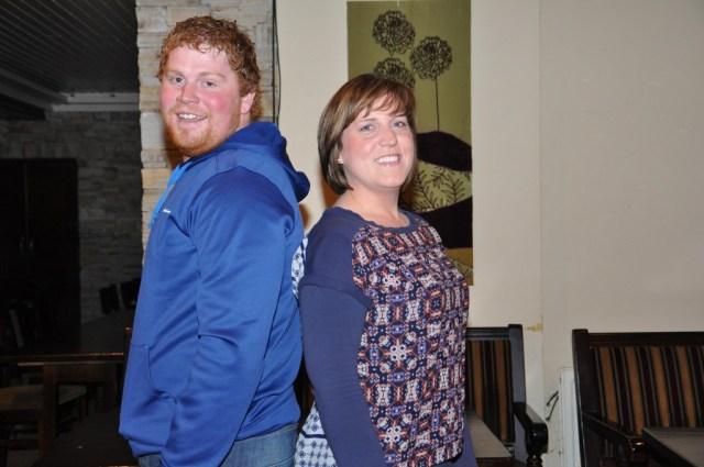 Ryan Mc Cafferty & Ann Sweeney.