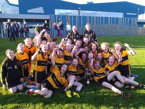 The St Eunan's U13 Girls who lifted the County A Championship
