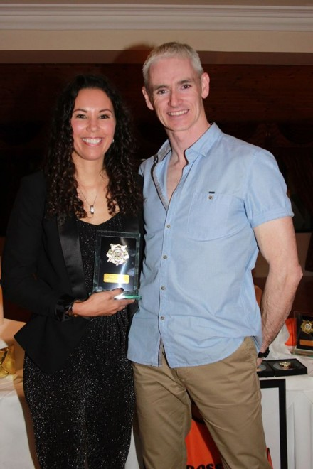 Female Athlete of the Year - Elize Gillespie