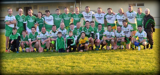 The brave married and single men who lined out to boost the underage development fund at Glenswilly this week.