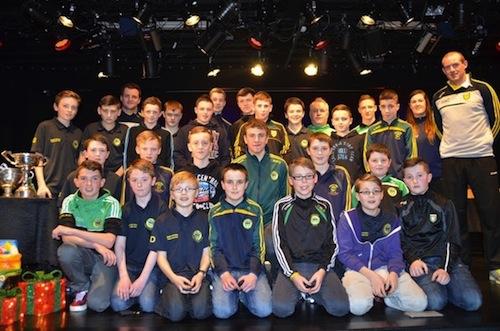 Glenswilly Under 14 boys team