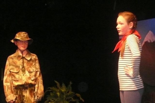 Jack Gallagher and Lauren Hall as Rolf and Liesl.JPG