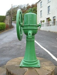 A traditional water pump in Mountcharles.