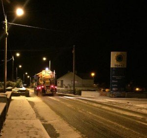 More snow and ice is on the way for Donegal this week.