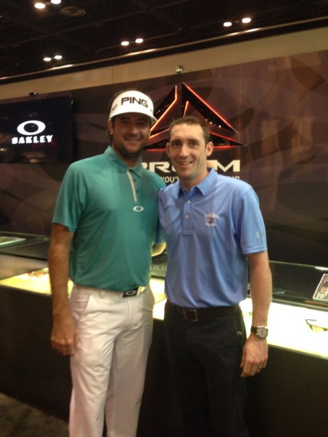 professional Daragh Lyons and two-time major winner Bubba Watson.