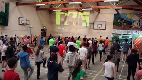Errigal College students in the zone this week!