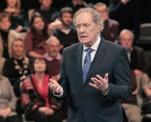Controversial Vincent Browne.