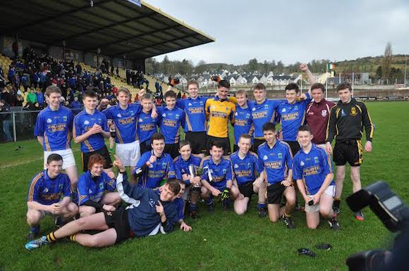 History makers: Coláiste Ailigh boys celebrate