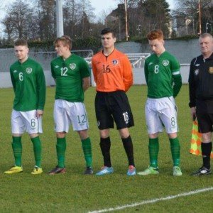 Lee McCarron starred for the Republic of Ireland schoolboys side in their 3-2 win over Northern Ireland.