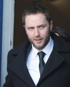 Shane McConnell leaving court today. Pic by Northwest Newspix.