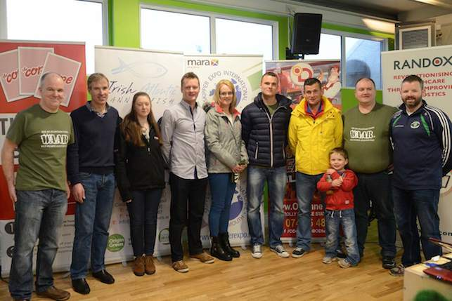 The WAAR committee including registered competitors Noreen McGee and The RACE winner Sean McFadden and his son, and Neil McGee who launched WAAR.ie.