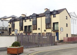 The Court Apartment block in Letterkenny has a guide price of €200,000.