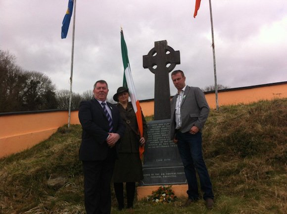 Cllr Gerry McMonagle; Patricia Doherty and Cllr Liam Doherty