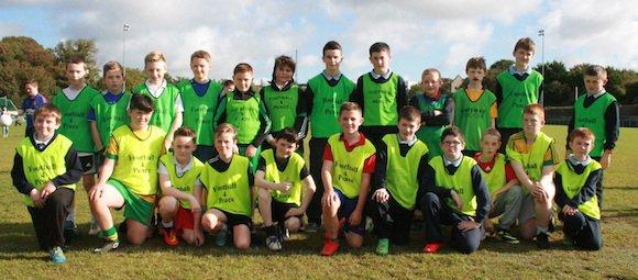 Team 2 at Crana College's Gaelic Blitz