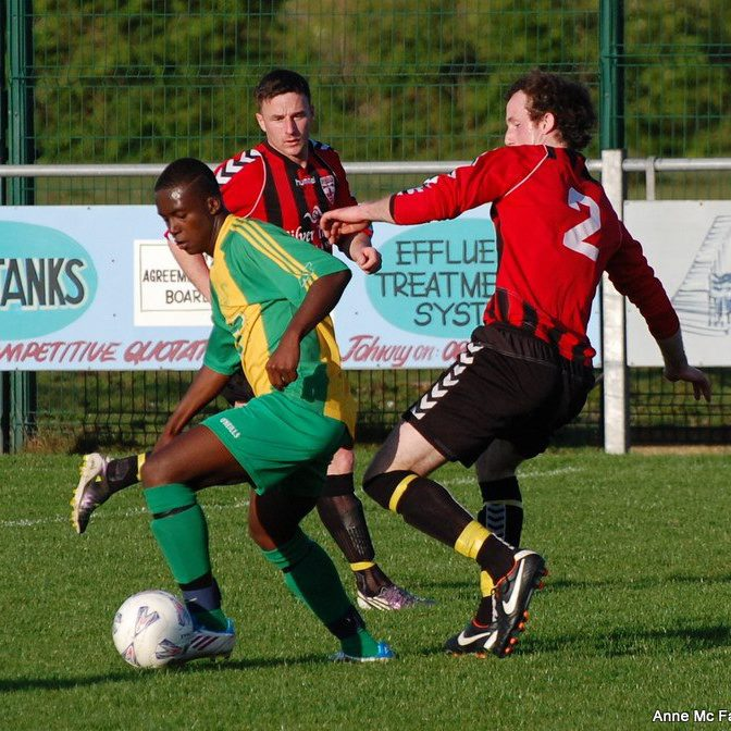 Anthony Appiah in action for Bonagee United FC.