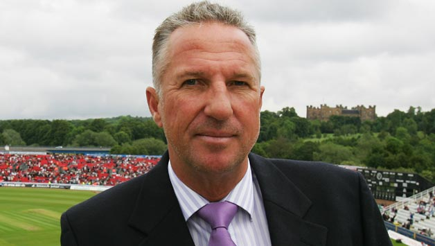 Commentator-Ian-Botham-looks-on-ahead-of-day-two-of-the-Fourth-Test-match-betwee