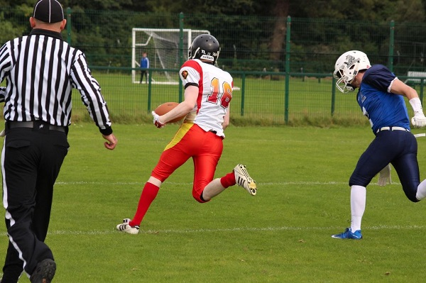 Brolly on his way to make a touch down