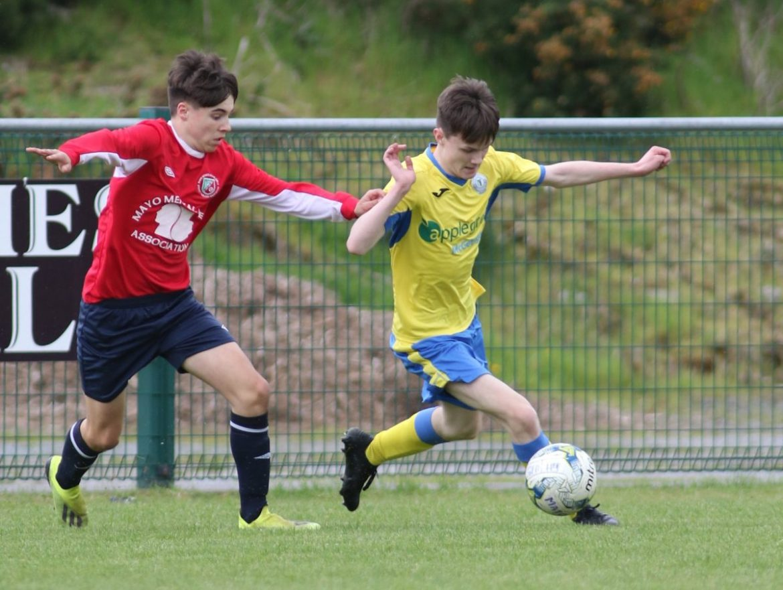 Finn Harps U15 thrash Mayo Schoolboys in National League