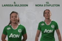 Larissa Muldoon and Nora Stapleton