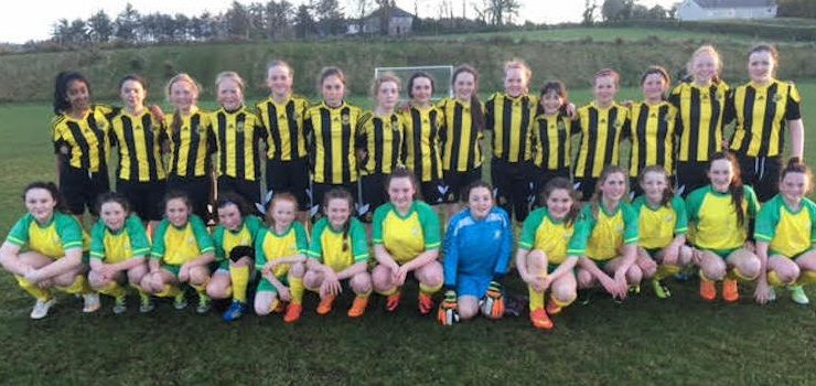 Donegal Women's League – Round-up of Terry Leyden U14 games from Wednesday