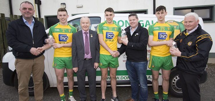 Under-21 All Star awards for three Donegal footballers