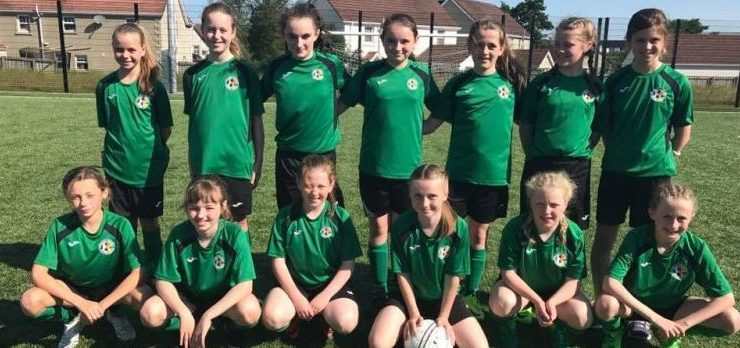 Donegal Women's League U11s are Foyle Cup champions