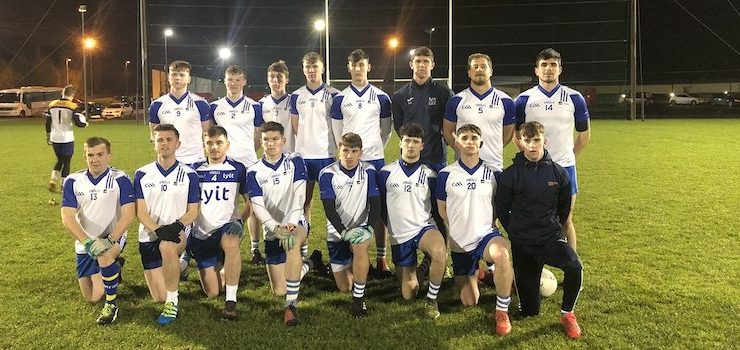 LyIT cruise to Trench Cup win over Mary Immaculate