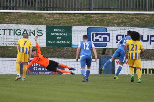WATCH: Finn Harps strike late to seal three points against Waterford