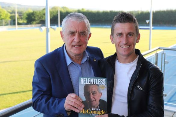 Watch: Huge crowds at launch of Patsy McGonagle's autobiography, 'Relentless'