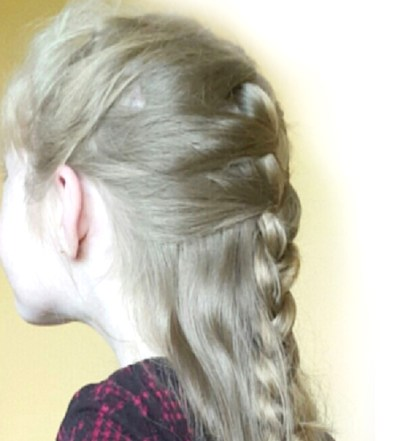 chloe mccauley is donating her hair to the little princess trust in December 2016