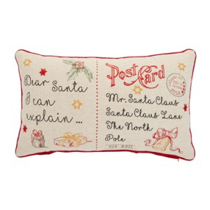 Post Card Cushion Dunnes Stores €15.00